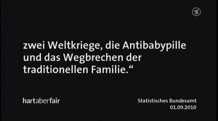 zwei Weltkriege, die Antibabypille und das Wegbrechen der traditionellen Familie