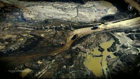 tagesthemen über Ölsände in Kanada