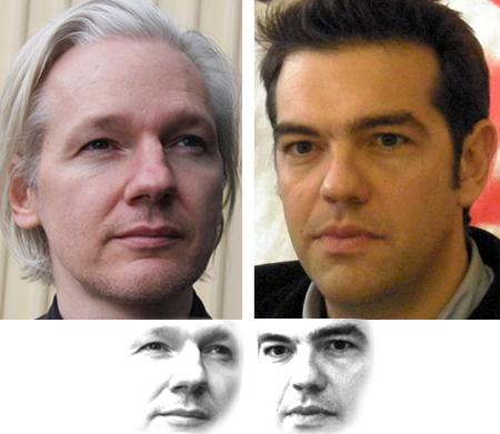 Julian Assange - Alexis Tsipras