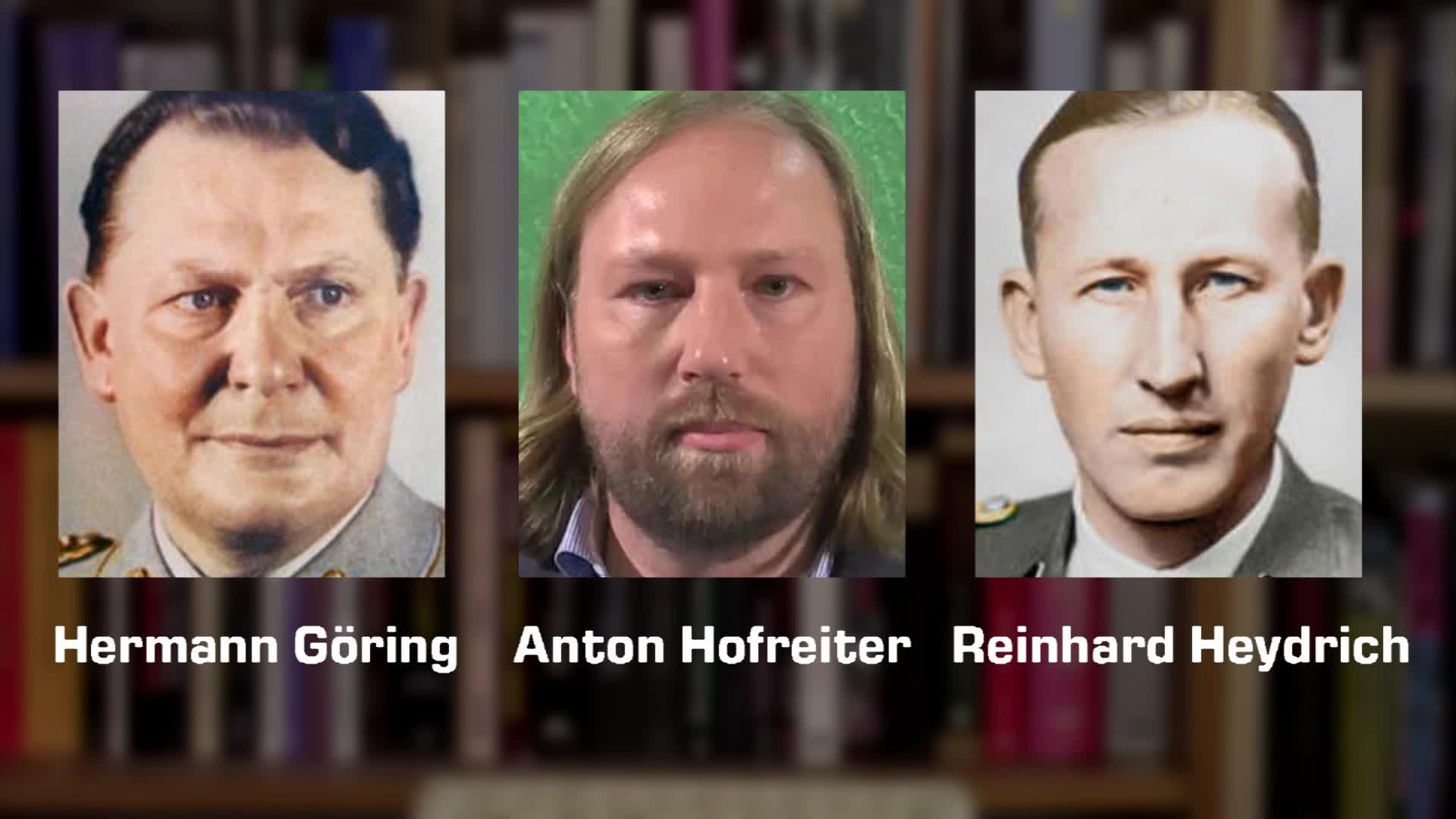 Anton Hofreiter - Hermann Göring - Reinhard Heydrich - Doubles - Doppelgänger