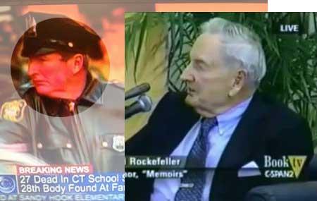 David Rockefeller - Polizist bei Verhaftung von Ryan Lanza
