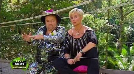 Dschungelcamp - Dirk Bach, Sonja Zietlow