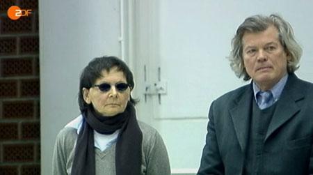 Verena Becker und Anwalt Hans Wolfgang Euler