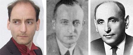 Johannes Ponader, Adolf Eichmann, Isser Harel