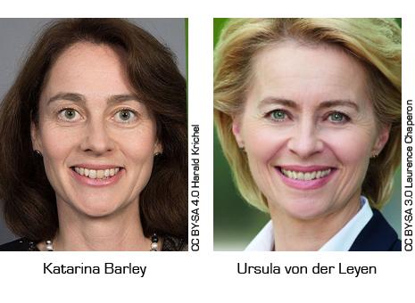 katarina-barley-ursula-von-der-leyen