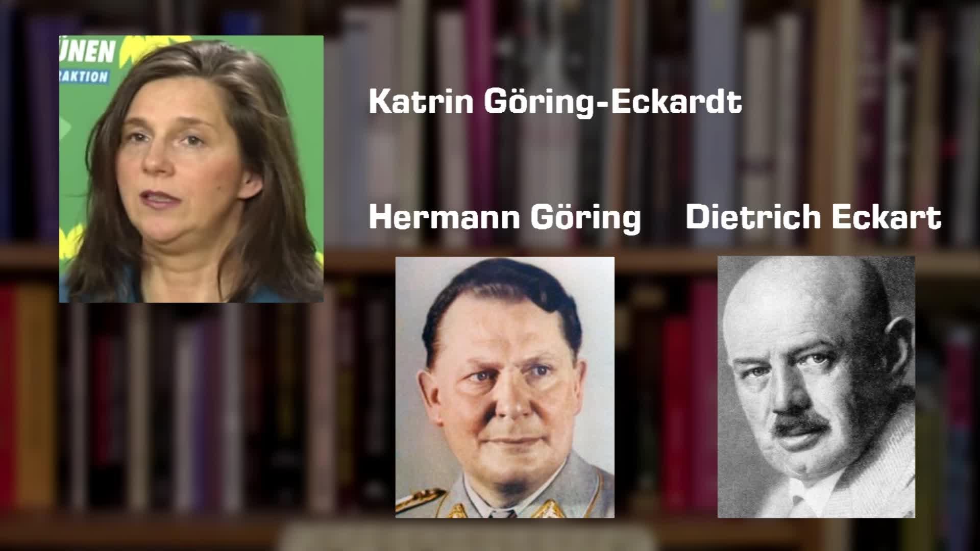 Katrin Göring-Eckardt - Hermann Göring - Dietrich Eckart