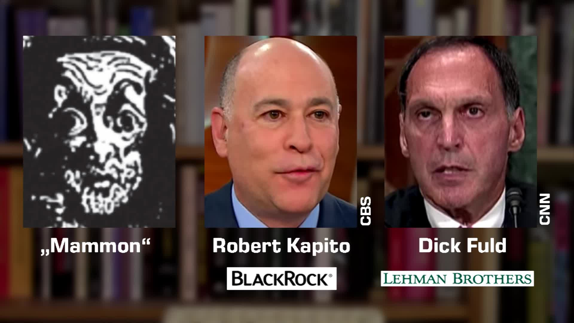 Dämon Mammon - Robert Kapito, BlackRock - Dick Fuld, Lehman Brothers - Doubles