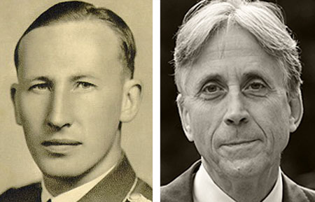 Reinhard Heydrich und Anwalt Walter Venedey