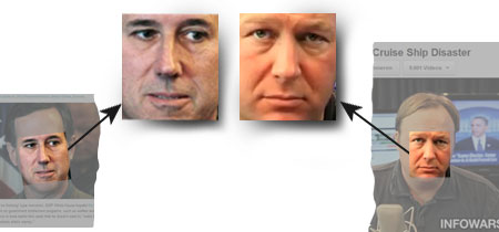 Rick Santorum, Alex Jones, infowars.com