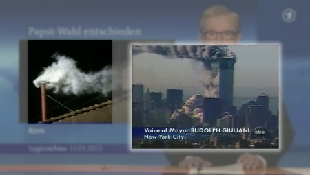 Tagesschau - Papstwahl Franziskus I. - 11. September 2001 WTC