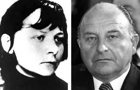 Verena Becker und Siegfried Buback