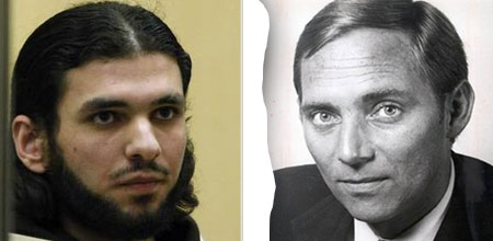 Kofferbomber Youssef Mohamad al-Hajdib und Wolfgang Schäuble